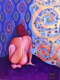 Female Figure - Acrylic on Canvas